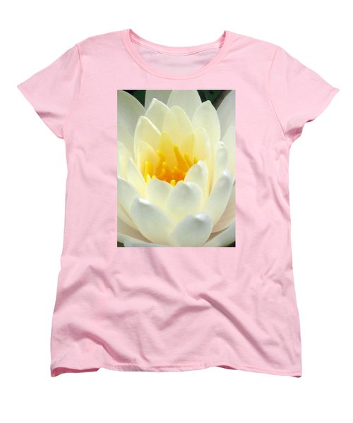 Women's T-Shirt (Standard Cut) featuring the photograph The Water Lilies Collection - 10 by Pamela Critchlow