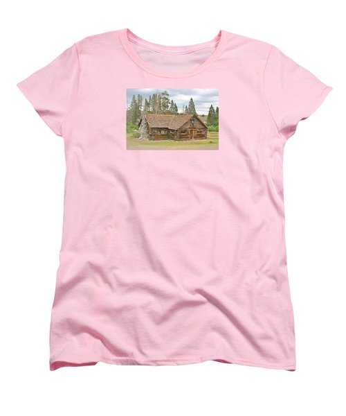 Women's T-Shirt (Standard Cut) featuring the photograph The Way It Was by Marilyn Diaz