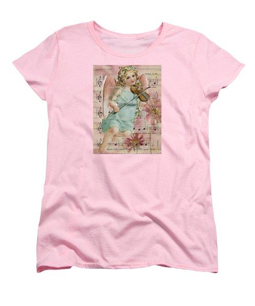Women's T-Shirt (Standard Cut) featuring the photograph The Wind  by Sandra Foster