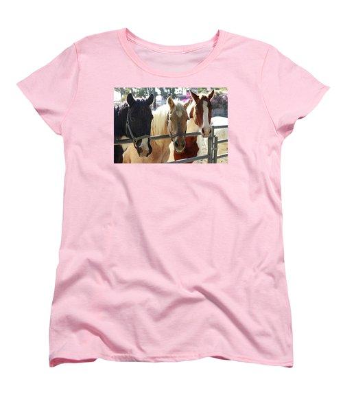 Three Amigos Women's T-Shirt (Standard Cut) by Shoal Hollingsworth