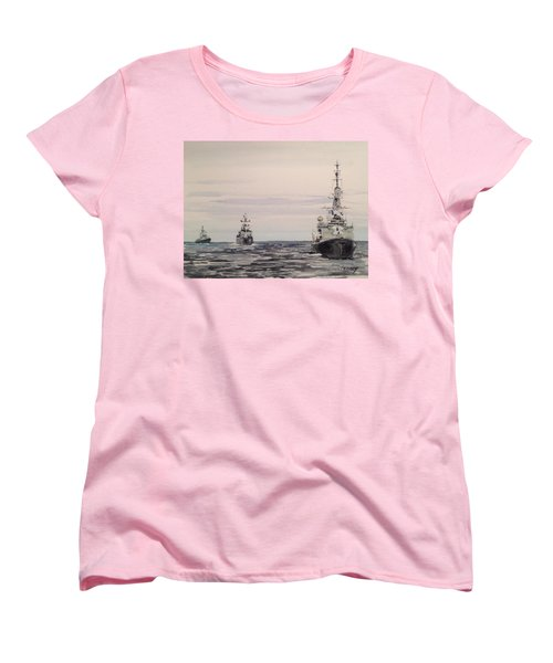 Three Bears Women's T-Shirt (Standard Cut) by Stan Tenney