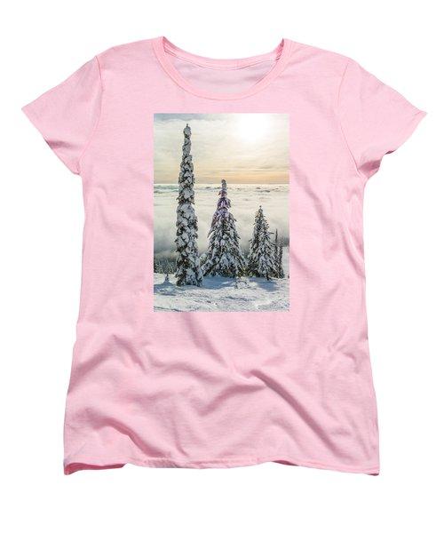 Three Wise Men Women's T-Shirt (Standard Cut) by Aaron Aldrich