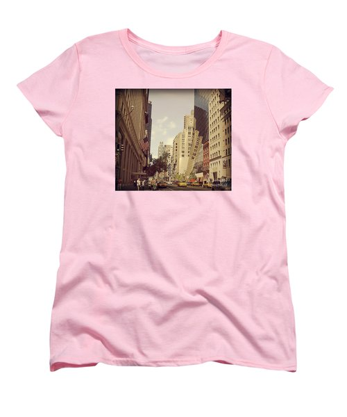 Through The Faded Looking Glass Women's T-Shirt (Standard Cut) by Meghan at FireBonnet Art