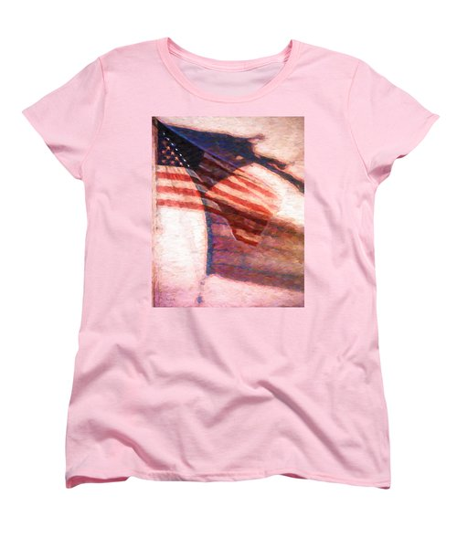Through War And Peace Women's T-Shirt (Standard Cut) by Bob Orsillo