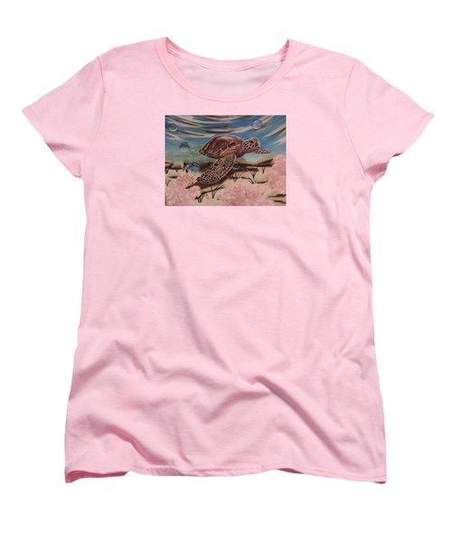 Travis Women's T-Shirt (Standard Cut) by Dianna Lewis