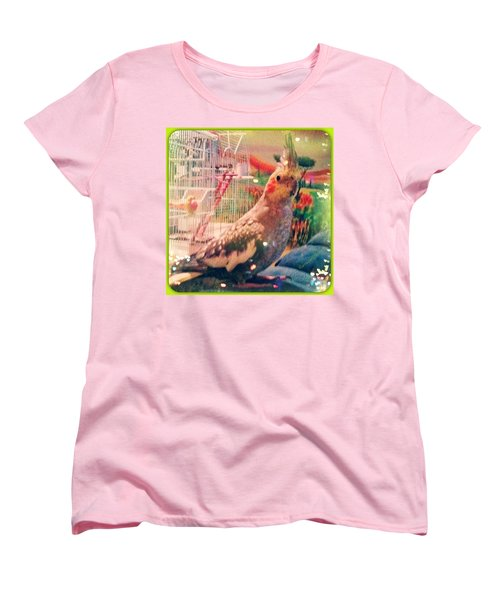 Tucker You #fillmyheartwithhappiness Women's T-Shirt (Standard Cut) by Anna Porter