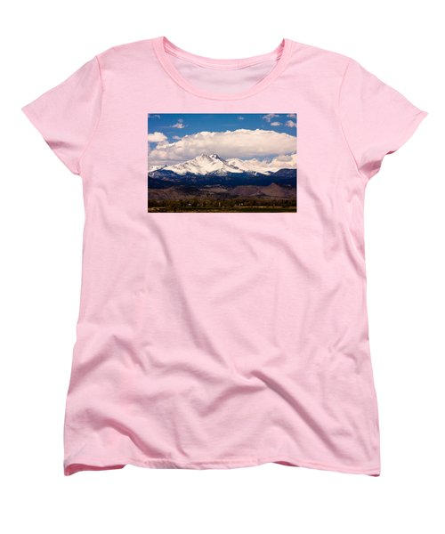 Twin Peaks Snow Covered Women's T-Shirt (Standard Cut) by James BO  Insogna