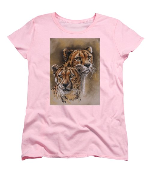 Twins Women's T-Shirt (Standard Cut) by Barbara Keith