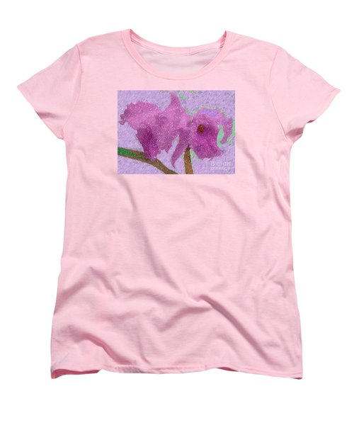 Two Hothouse Beauties Women's T-Shirt (Standard Cut) by Barbie Corbett-Newmin