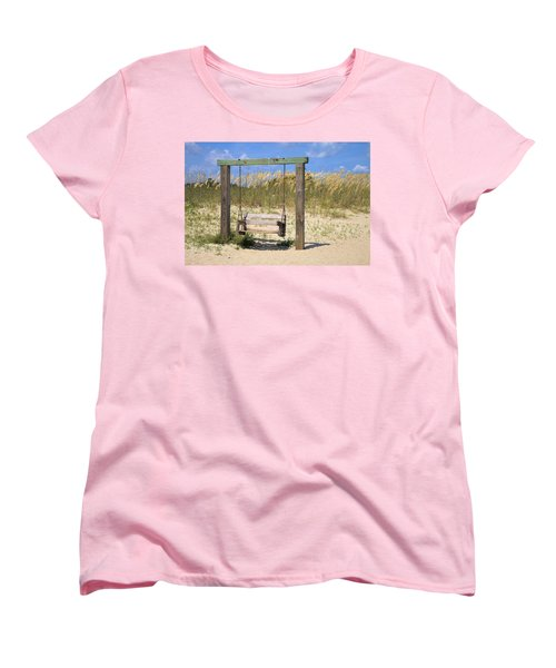 Tybee Island Swing Women's T-Shirt (Standard Cut)
