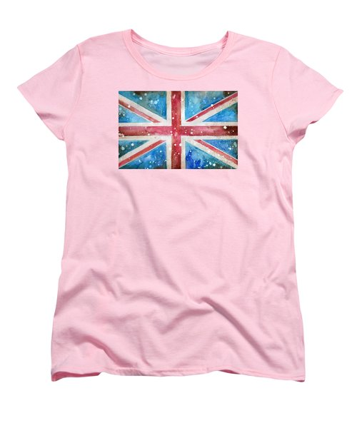 Union Jack Women's T-Shirt (Standard Cut) by Sean Parnell