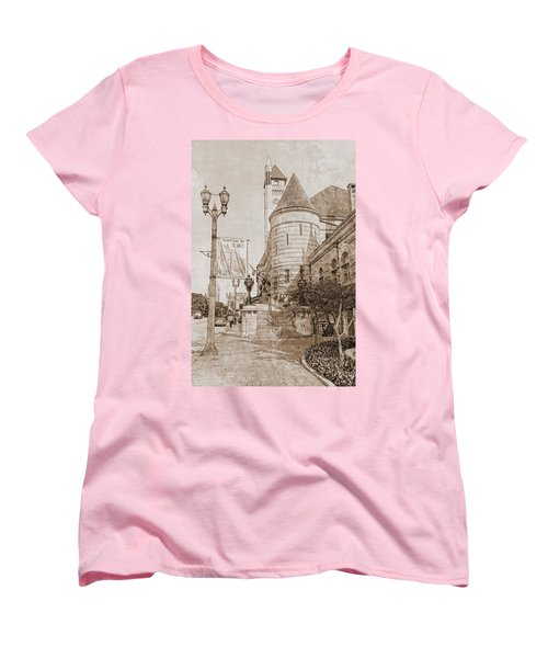 Union Station St Louis Mo Women's T-Shirt (Standard Cut) by Greg Kluempers