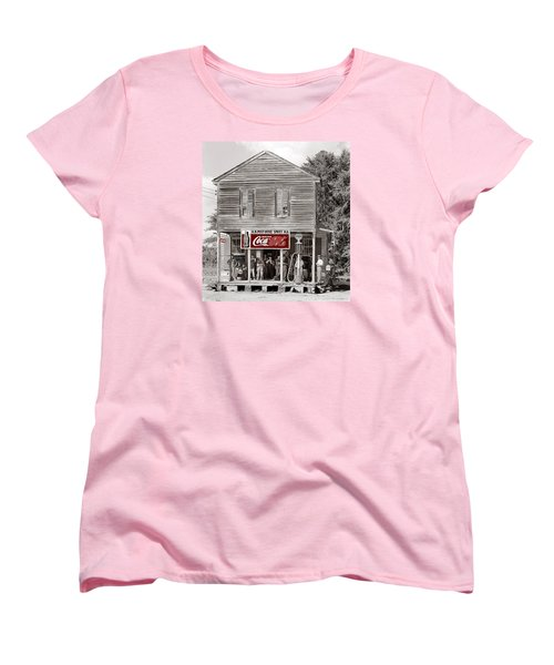 U.s. Post Office General Store Coca-cola Signs Sprott  Alabama Walker Evans Photo C.1935-2014. Women's T-Shirt (Standard Cut) by David Lee Guss