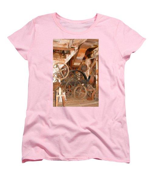 Used Parts As Art  Women's T-Shirt (Standard Cut) by Brooks Garten Hauschild