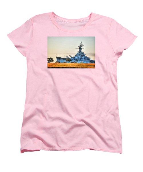 Uss Alabama Women's T-Shirt (Standard Cut) by Michael Thomas