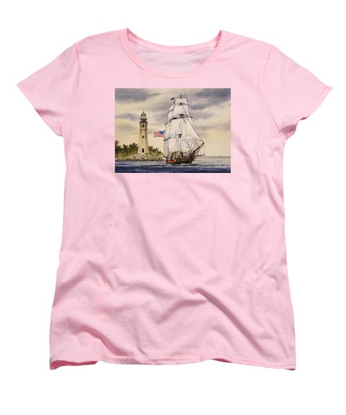 Uss Niagara Women's T-Shirt (Standard Cut) by James Williamson
