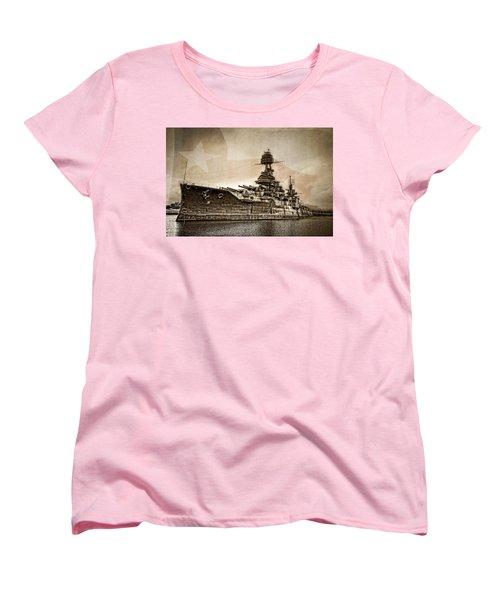 U.s.s. Texas Women's T-Shirt (Standard Cut) by Ken Smith