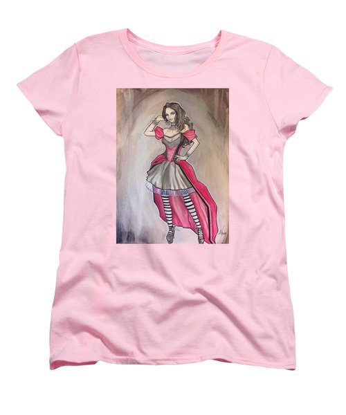 Vampire Mihela Women's T-Shirt (Standard Cut) by Jimmy Adams