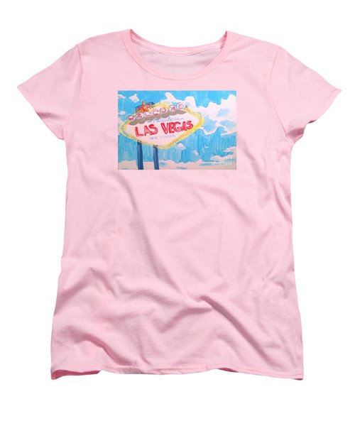 Vegas Women's T-Shirt (Standard Cut) by Marisela Mungia