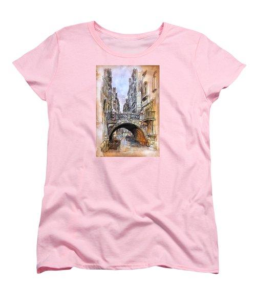 Venice 2 Women's T-Shirt (Standard Cut) by Andrzej Szczerski