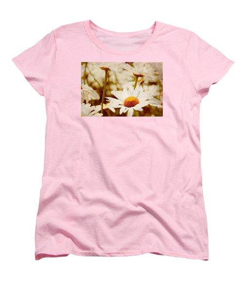 Vintage Daisy Women's T-Shirt (Standard Cut) by Beverly Stapleton