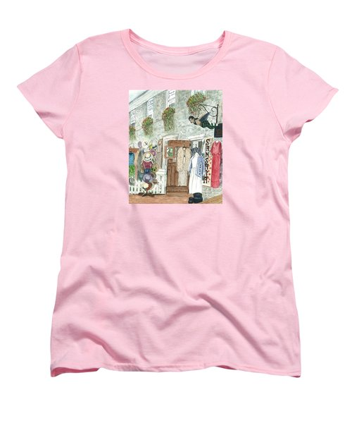 Vintage New Hope Women's T-Shirt (Standard Cut) by Vickie G Buccini