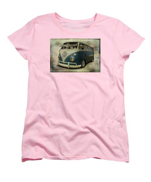 Vw Bus On Display Women's T-Shirt (Standard Cut) by Athena Mckinzie