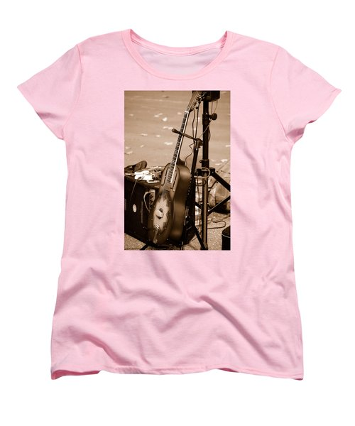 Waiting To Be Played Women's T-Shirt (Standard Cut) by Holly Blunkall