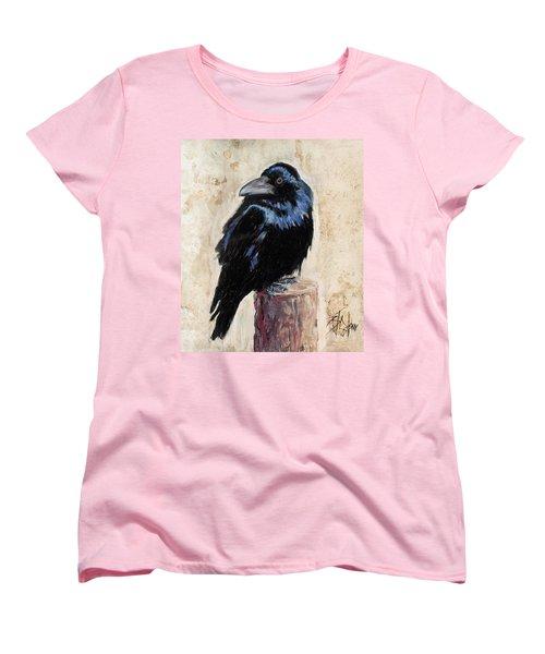 Watching And Waiting Women's T-Shirt (Standard Cut) by Billie Colson