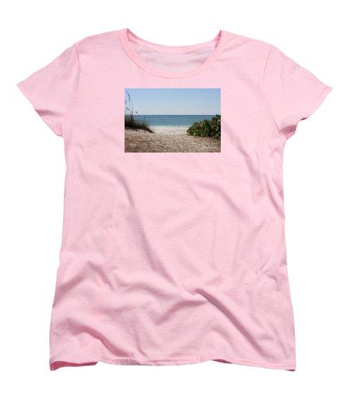 Welcome To The Beach Women's T-Shirt (Standard Cut)