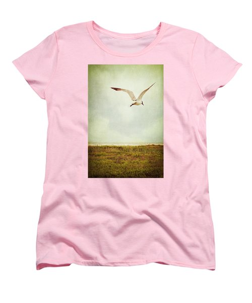 Where To Go? Women's T-Shirt (Standard Cut) by Trish Mistric