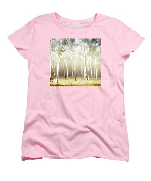 Whisper The Trees Women's T-Shirt (Standard Cut) by Holly Kempe