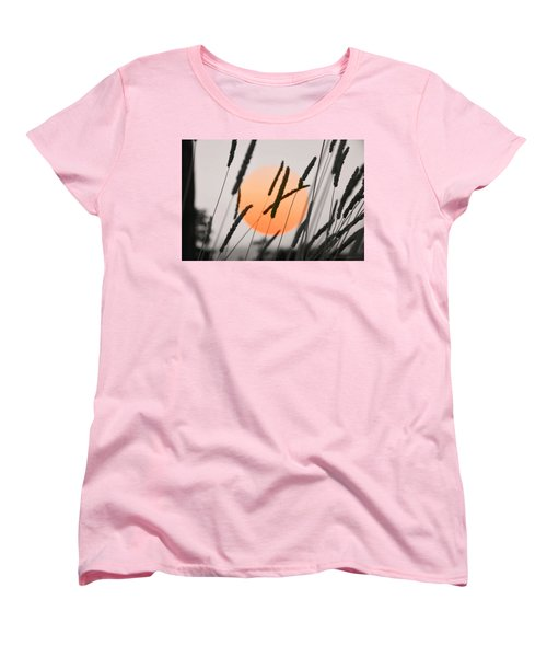 Women's T-Shirt (Standard Cut) featuring the photograph Whispers by Charlotte Schafer