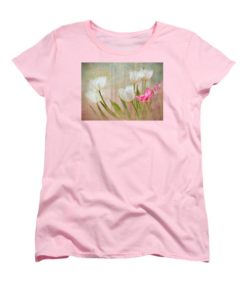 White Lily Show Women's T-Shirt (Standard Cut) by Bonnie Willis