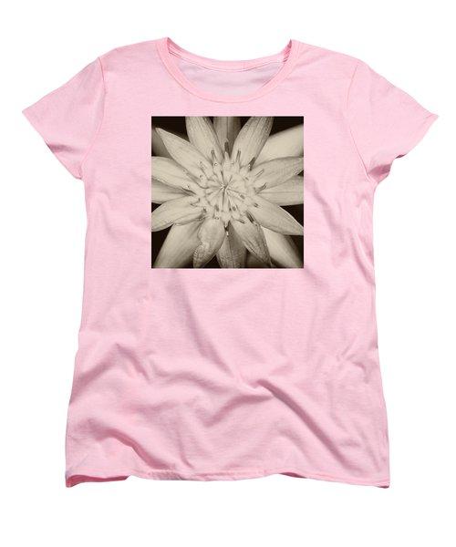 Lotus Women's T-Shirt (Standard Cut) by Ulrich Schade