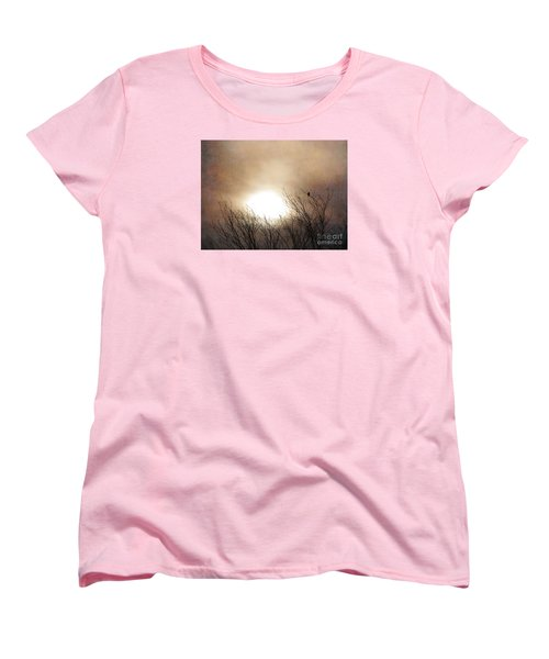 Winter Solstice Women's T-Shirt (Standard Cut) by Roselynne Broussard
