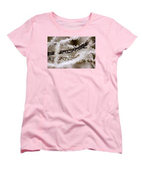 Winter Wonders Women's T-Shirt (Standard Cut) by Tiffany Erdman