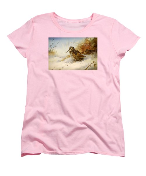 Winter Woodcock Women's T-Shirt (Standard Cut)
