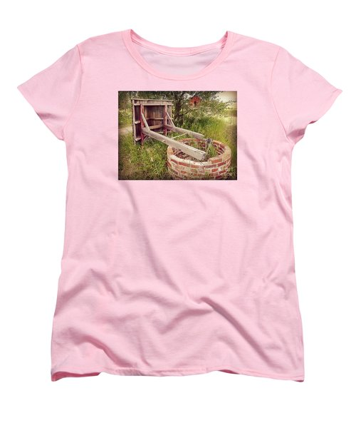 Woeful Well Women's T-Shirt (Standard Cut) by Meghan at FireBonnet Art