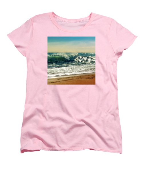 Your Moment Of Perfection Women's T-Shirt (Standard Cut) by Laura Fasulo