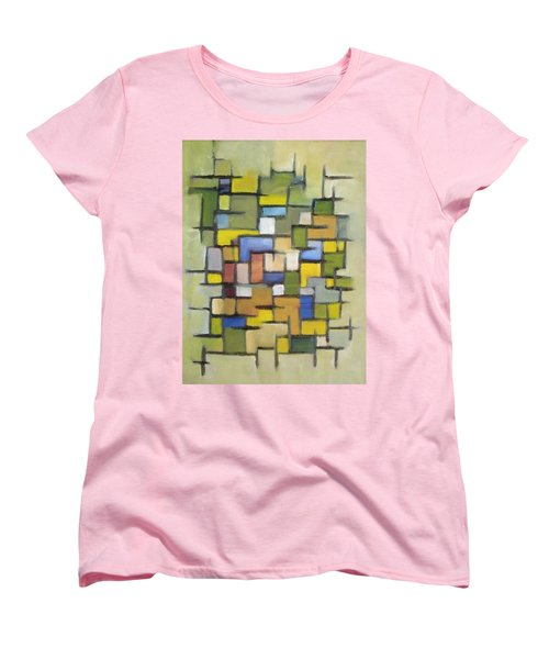 2012 Abstract Line Series Xx Women's T-Shirt (Standard Cut) by Patricia Cleasby