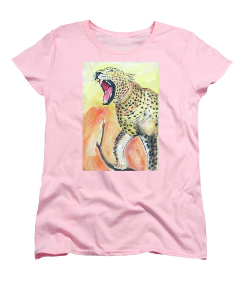 African Leopard Women's T-Shirt (Standard Cut)