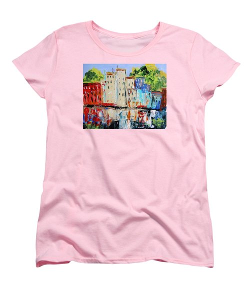 After Hours-reflection Women's T-Shirt (Standard Cut) by John Williams