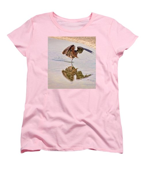 Women's T-Shirt (Standard Cut) featuring the photograph Attack Dance by Steven Sparks