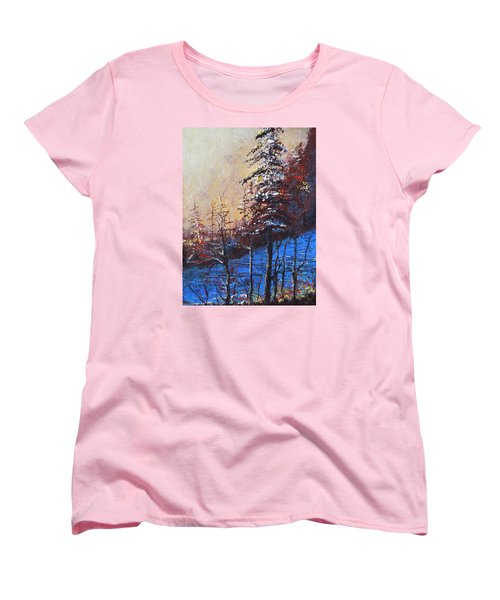 Autumn Silence Women's T-Shirt (Standard Cut) by Dan Whittemore