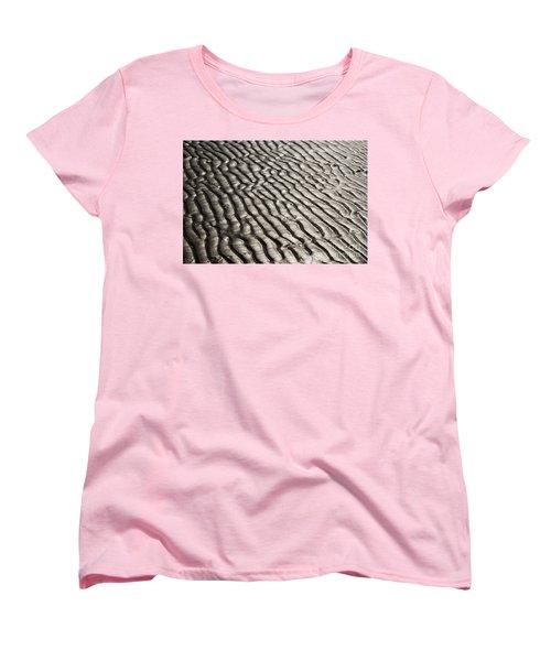 Women's T-Shirt (Standard Cut) featuring the photograph Beach Sands by Fotosas Photography