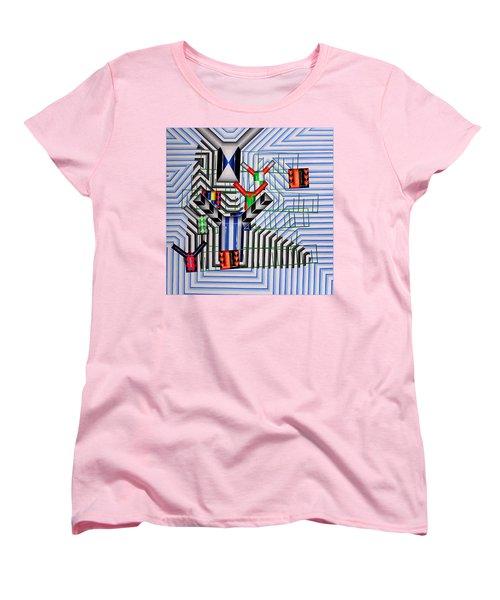 Women's T-Shirt (Standard Cut) featuring the painting Burwood Breeze by Mark Howard Jones