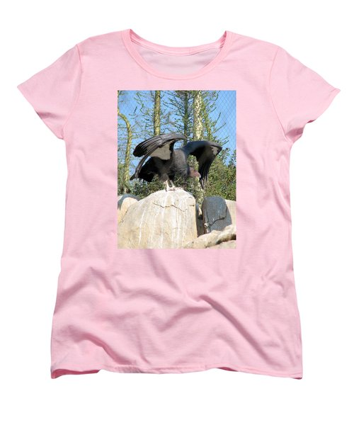 Women's T-Shirt (Standard Cut) featuring the photograph California Condor by Carla Parris