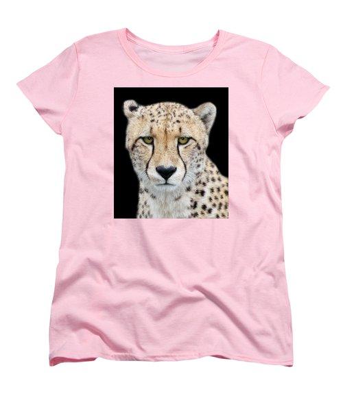 Women's T-Shirt (Standard Cut) featuring the photograph Cheetah by Lynn Bolt