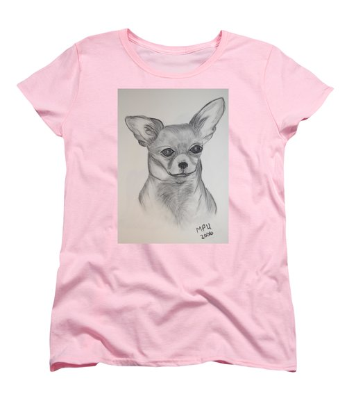 Chi Chi Women's T-Shirt (Standard Cut) by Maria Urso